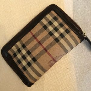Used Burberry Wallet